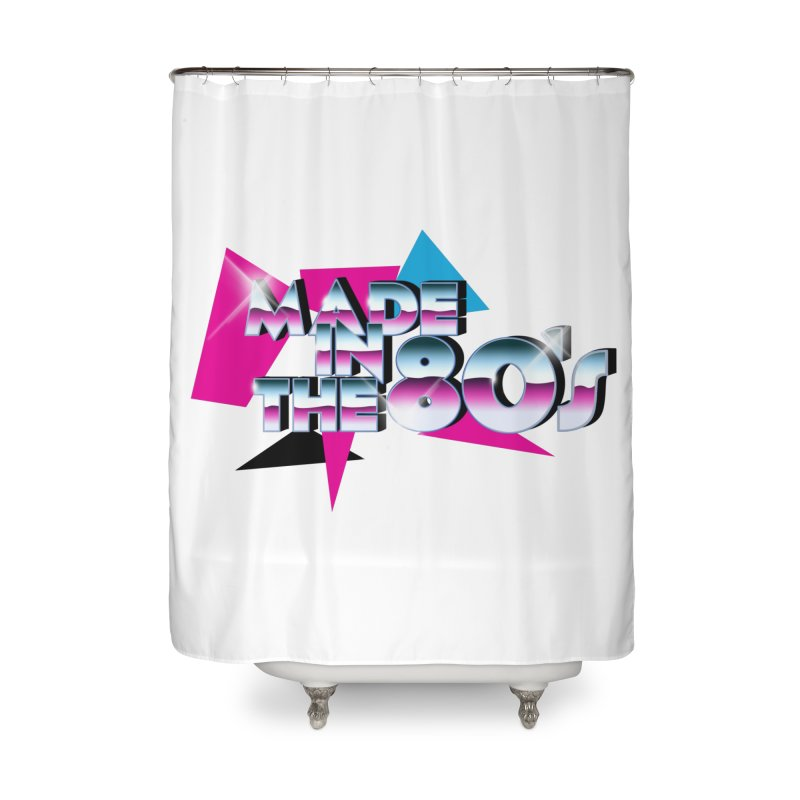 Made in the 80's Home Shower Curtain by peregraphs's Artist Shop