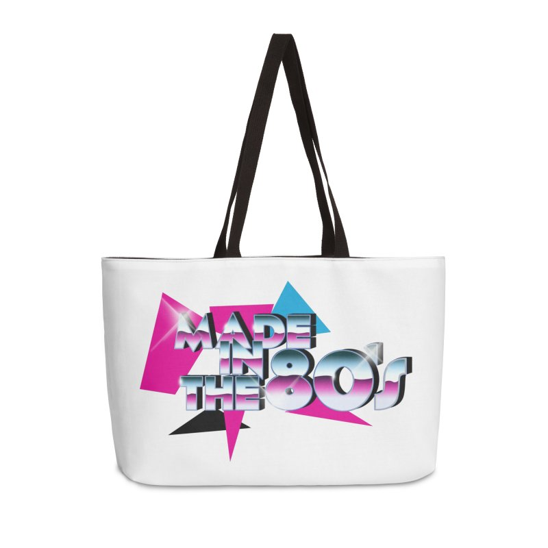 Made in the 80's Accessories Weekender Bag Bag by peregraphs's Artist Shop