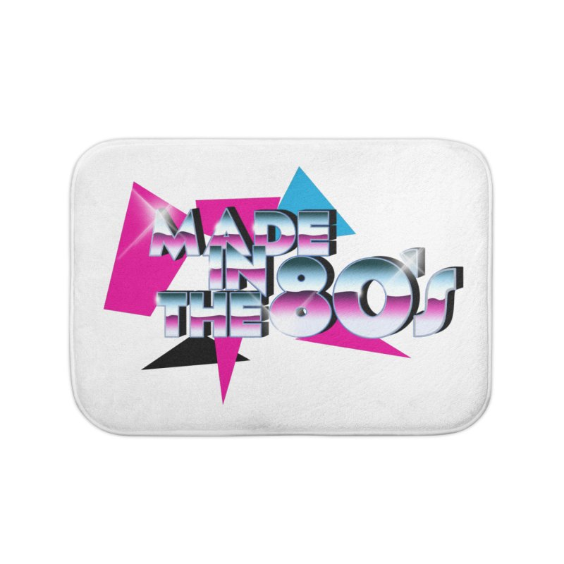 Made in the 80's Home Bath Mat by peregraphs's Artist Shop