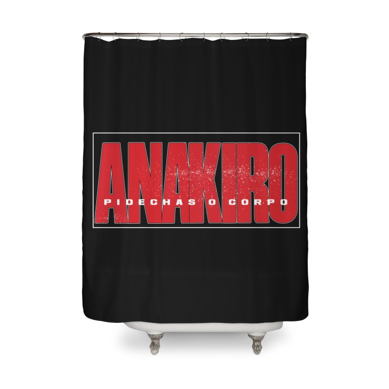 ANAKIRO Home Shower Curtain by peregraphs's Artist Shop