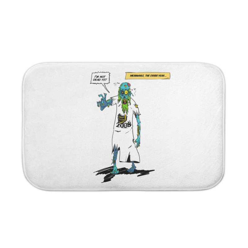 Zombie Year Home Bath Mat by peregraphs's Artist Shop