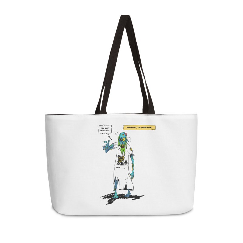 Zombie Year Accessories Weekender Bag Bag by peregraphs's Artist Shop