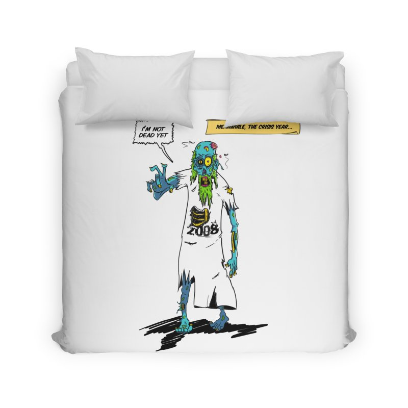 Zombie Year Home Duvet by peregraphs's Artist Shop