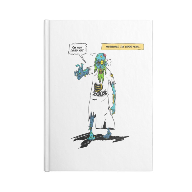 Zombie Year Accessories Lined Journal Notebook by peregraphs's Artist Shop
