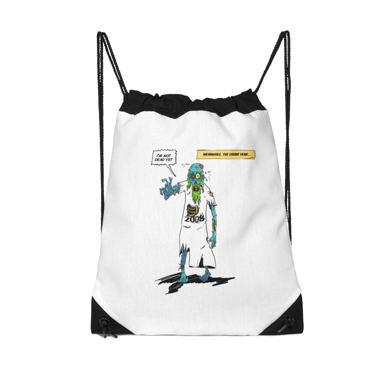 Zombie Year Accessories Drawstring Bag Bag by peregraphs's Artist Shop