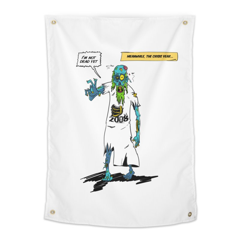 Zombie Year Home Tapestry by peregraphs's Artist Shop