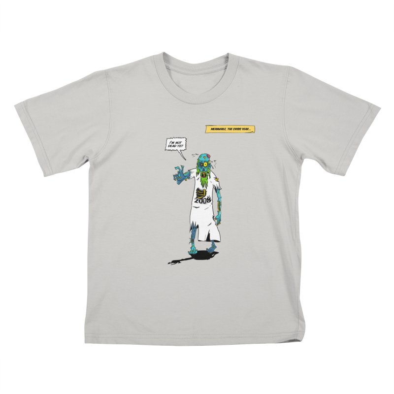 Zombie Year Kids T-shirt by peregraphs's Artist Shop