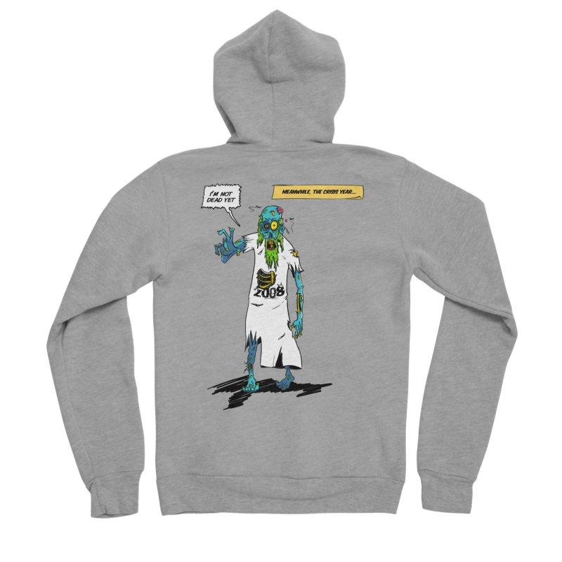 Zombie Year Men's Sponge Fleece Zip-Up Hoody by peregraphs's Artist Shop