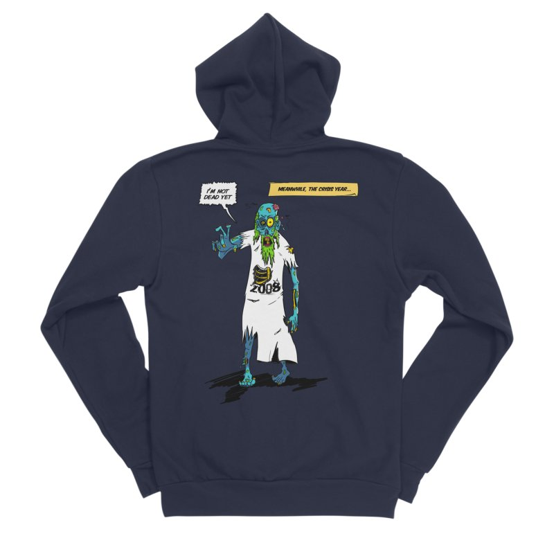 Zombie Year Men's Sponge Fleece Zip-Up Hoody by peregraphs's Artist Shop