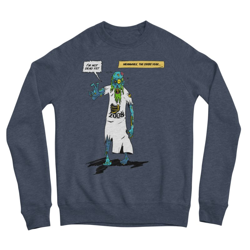 Zombie Year Men's Sponge Fleece Sweatshirt by peregraphs's Artist Shop