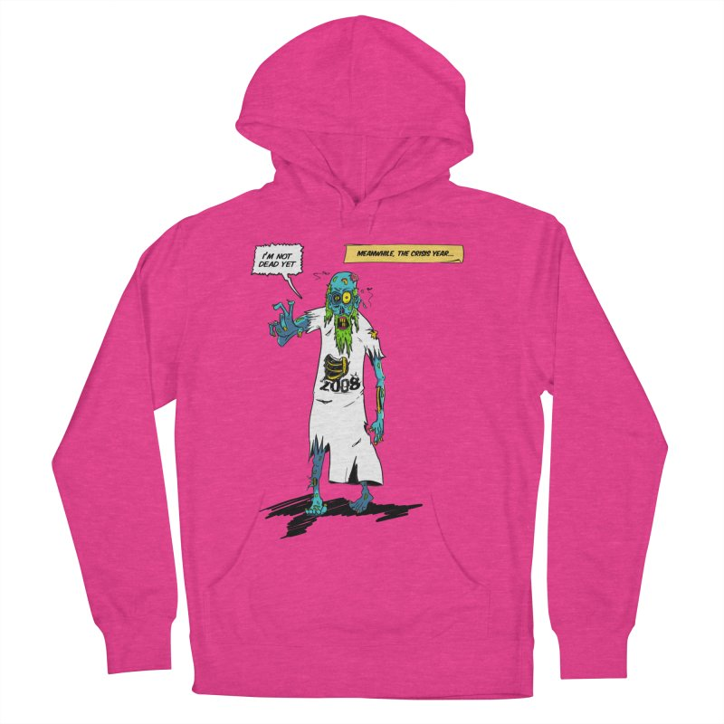 Zombie Year Women's French Terry Pullover Hoody by peregraphs's Artist Shop