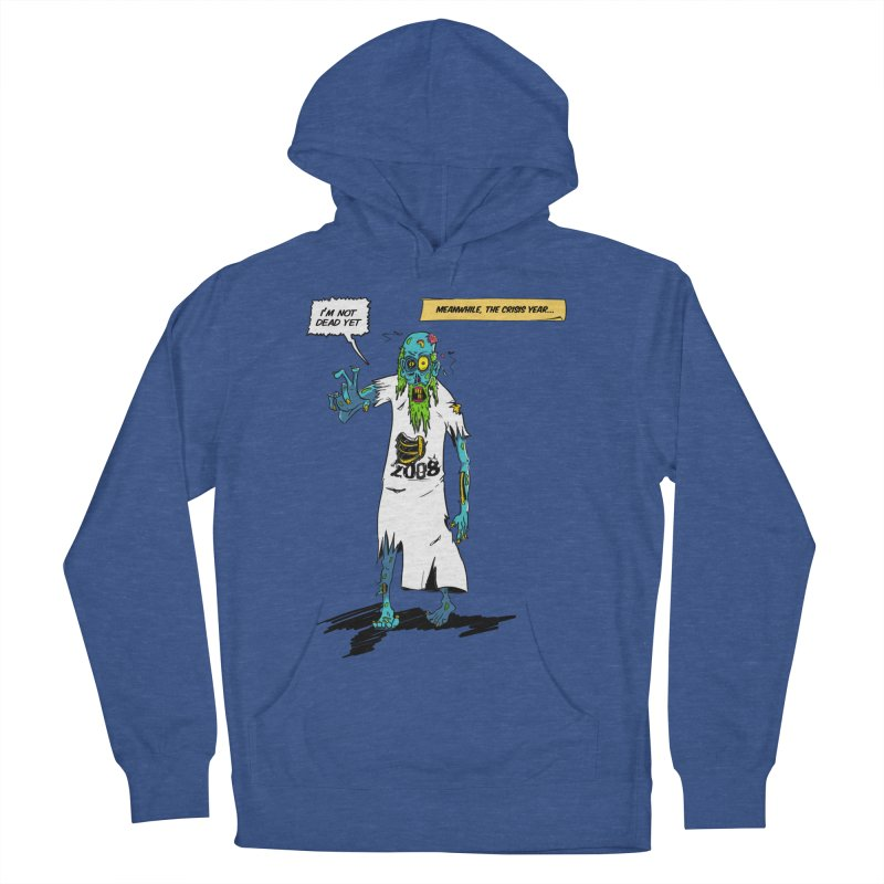 Zombie Year Men's French Terry Pullover Hoody by peregraphs's Artist Shop