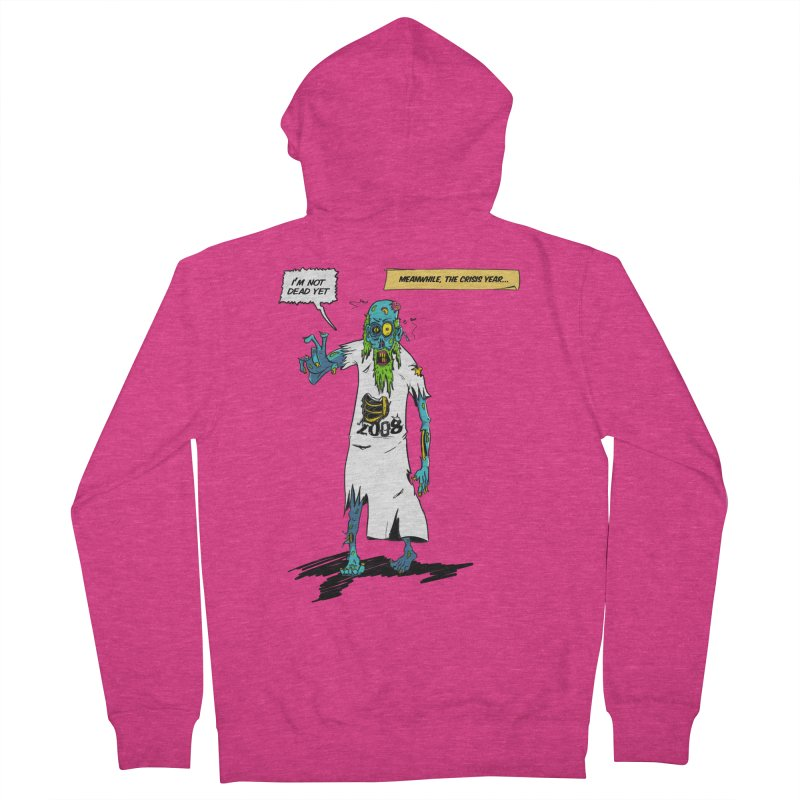 Zombie Year Women's French Terry Zip-Up Hoody by peregraphs's Artist Shop