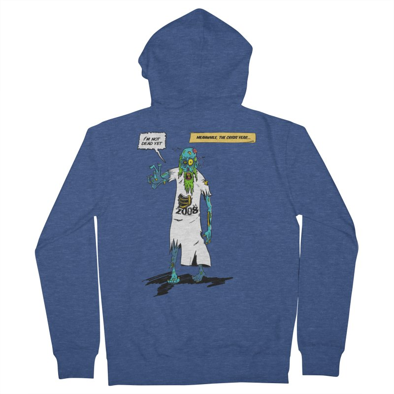 Zombie Year Men's Zip-Up Hoody by peregraphs's Artist Shop