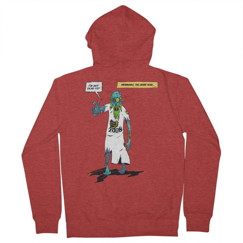 Zombie Year Men's Zip-Up Hoody by peregraphs's Artist Shop