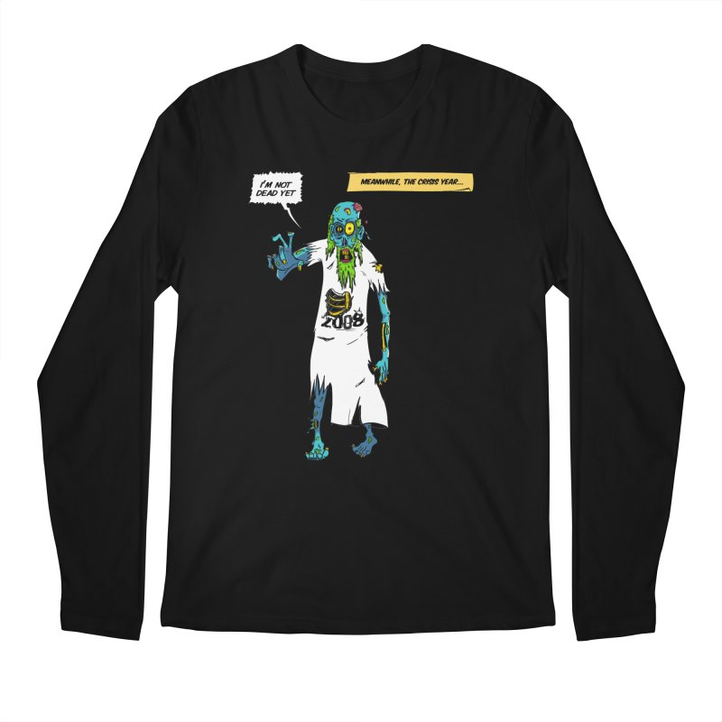 Zombie Year Men's Regular Longsleeve T-Shirt by peregraphs's Artist Shop