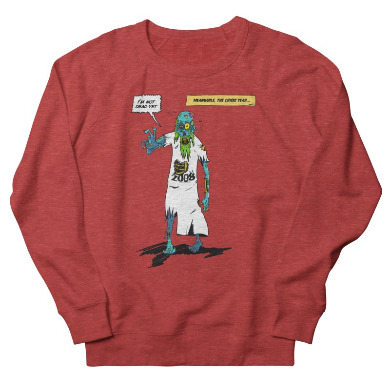 Zombie Year Women's French Terry Sweatshirt by peregraphs's Artist Shop