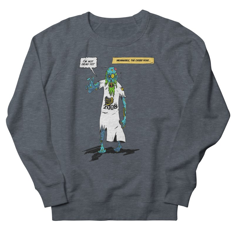 Zombie Year Men's French Terry Sweatshirt by peregraphs's Artist Shop