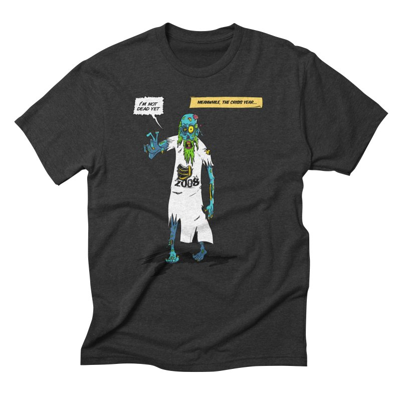 Zombie Year Men's Triblend T-Shirt by peregraphs's Artist Shop