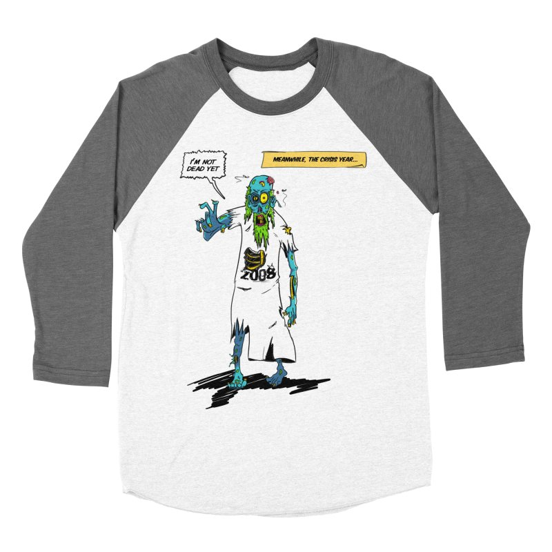 Zombie Year Men's Baseball Triblend Longsleeve T-Shirt by peregraphs's Artist Shop