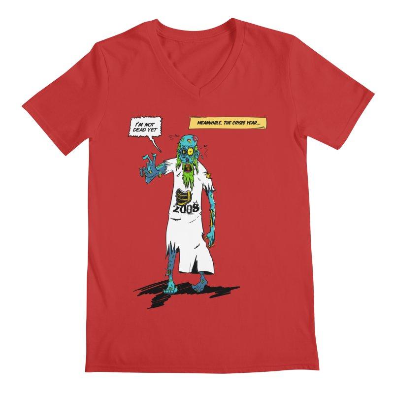Zombie Year Men's Regular V-Neck by peregraphs's Artist Shop