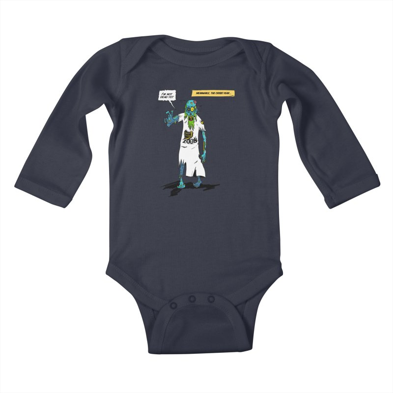 Zombie Year Kids Baby Longsleeve Bodysuit by peregraphs's Artist Shop