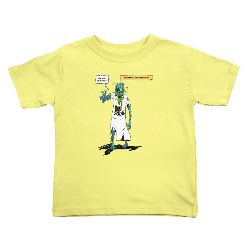Zombie Year Kids Toddler T-Shirt by peregraphs's Artist Shop