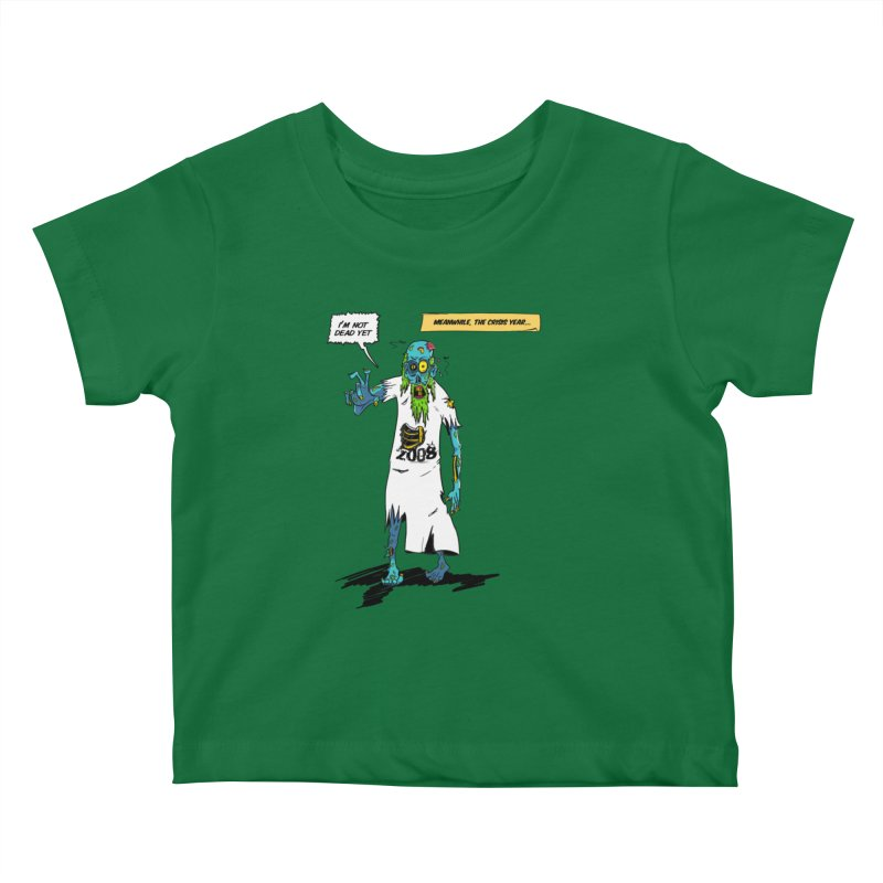 Zombie Year Kids Baby T-Shirt by peregraphs's Artist Shop