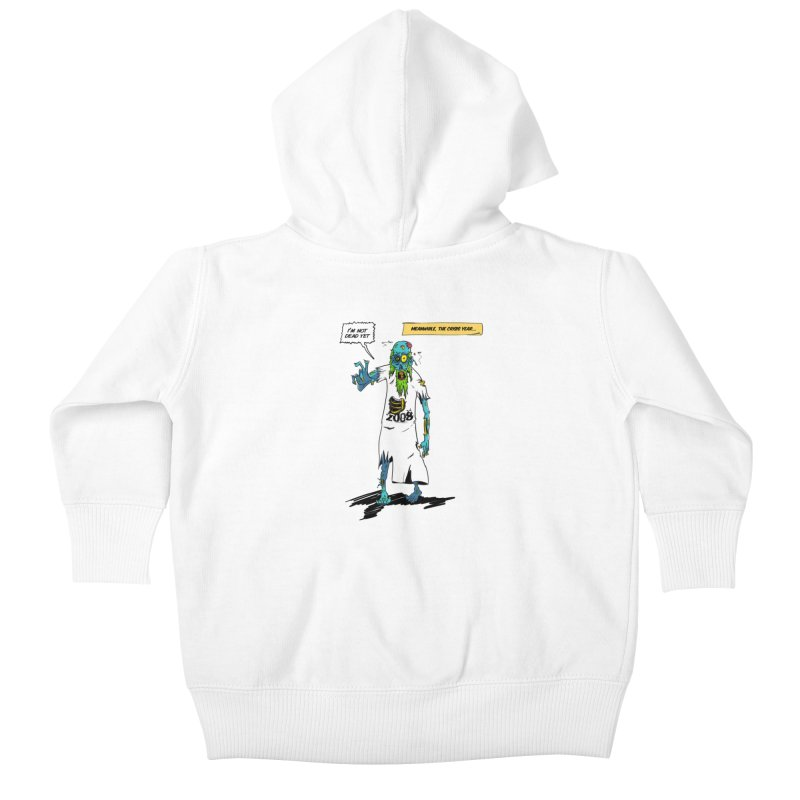 Zombie Year Kids Baby Zip-Up Hoody by peregraphs's Artist Shop