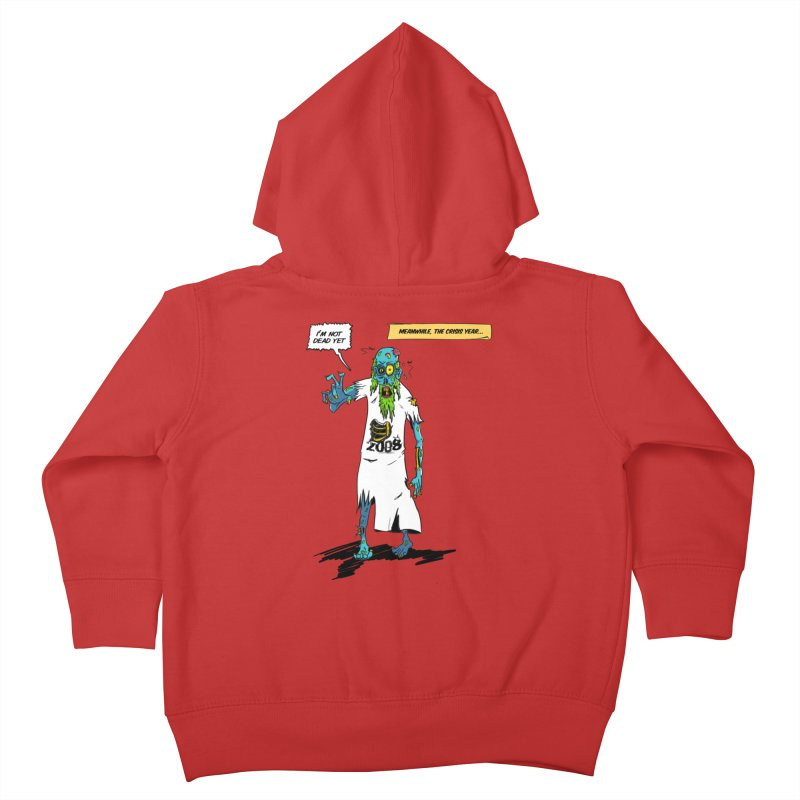 Zombie Year Kids Toddler Zip-Up Hoody by peregraphs's Artist Shop