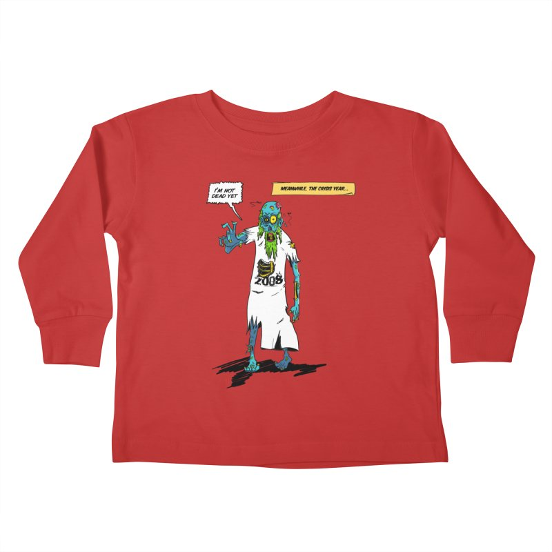 Zombie Year Kids Toddler Longsleeve T-Shirt by peregraphs's Artist Shop