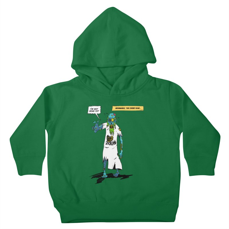 Zombie Year Kids Toddler Pullover Hoody by peregraphs's Artist Shop