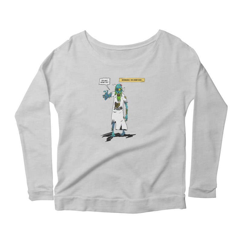 Zombie Year Women's Scoop Neck Longsleeve T-Shirt by peregraphs's Artist Shop