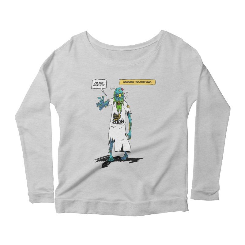 Zombie Year Women's Scoop Neck Longsleeve T-Shirt by peregraphs's Artist Shop
