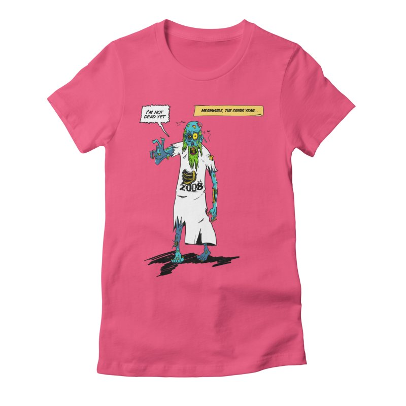 Zombie Year Women's Fitted T-Shirt by peregraphs's Artist Shop