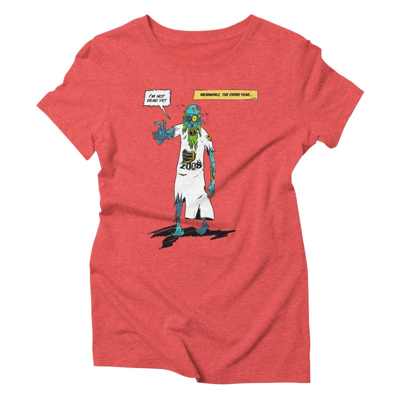Zombie Year Women's Triblend T-Shirt by peregraphs's Artist Shop