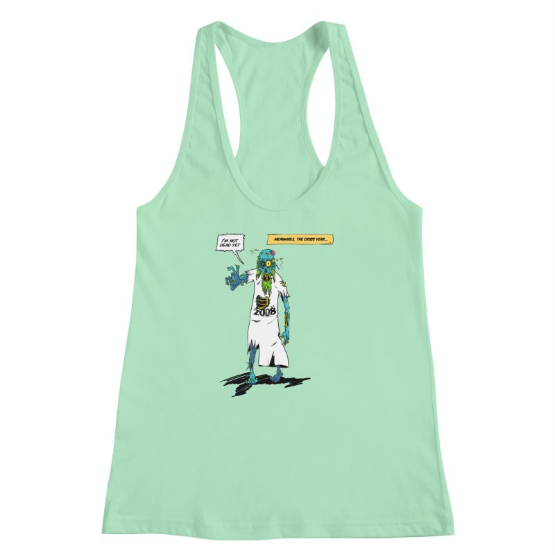 Zombie Year Women's Racerback Tank by peregraphs's Artist Shop