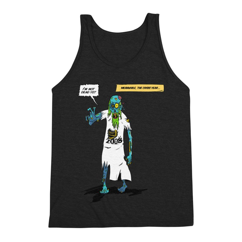 Zombie Year Men's Triblend Tank by peregraphs's Artist Shop