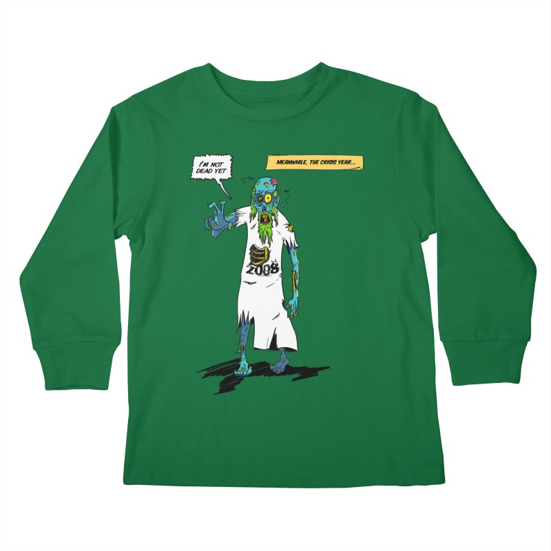 Zombie Year Kids Longsleeve T-Shirt by peregraphs's Artist Shop