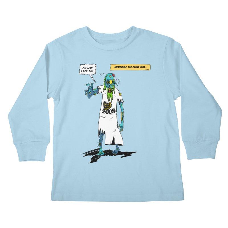 Zombie Year Kids Longsleeve T-Shirt by peregraphs's Artist Shop