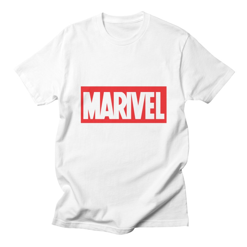 Marivel in Men's Regular T-Shirt White by peregraphs's Artist Shop