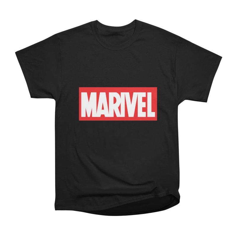 Marivel Men's Heavyweight T-Shirt by peregraphs's Artist Shop