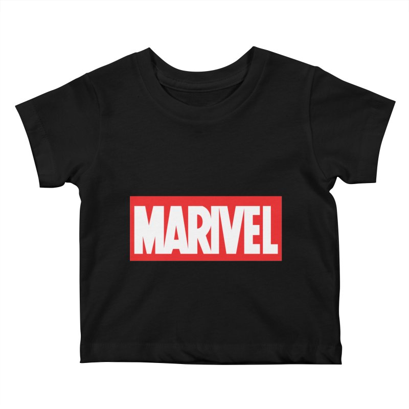 Marivel Kids Baby T-Shirt by peregraphs's Artist Shop