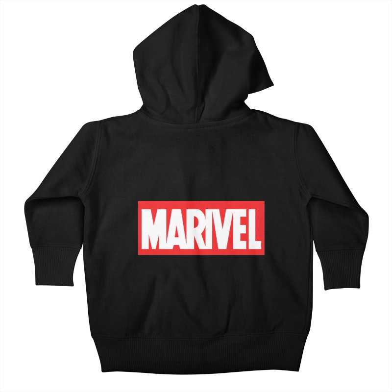 Marivel Kids Baby Zip-Up Hoody by peregraphs's Artist Shop