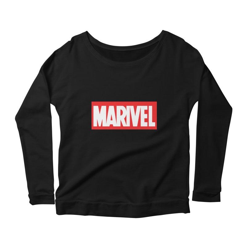Marivel Women's Scoop Neck Longsleeve T-Shirt by peregraphs's Artist Shop