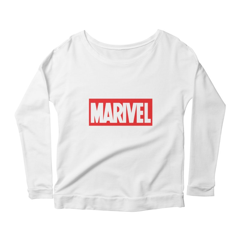 Marivel Women's Longsleeve Scoopneck  by peregraphs's Artist Shop