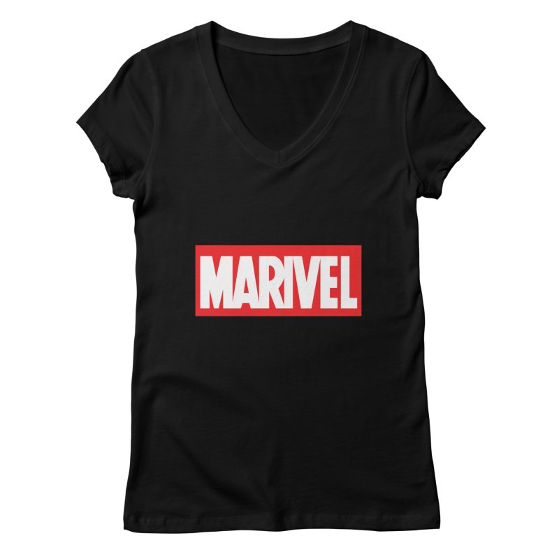 Marivel Women's V-Neck by peregraphs's Artist Shop