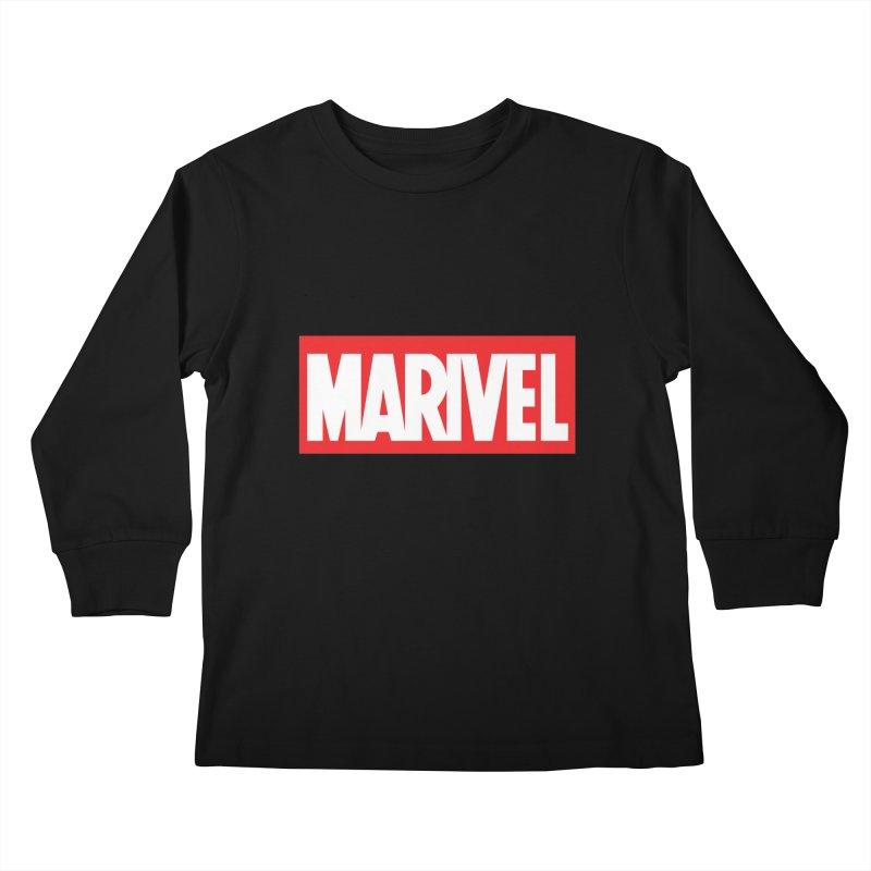 Marivel Kids Longsleeve T-Shirt by peregraphs's Artist Shop