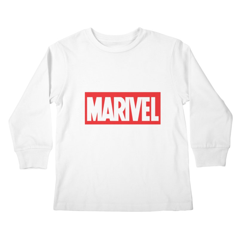 Marivel Kids Longsleeve T-Shirt by peregraphs's Artist Shop