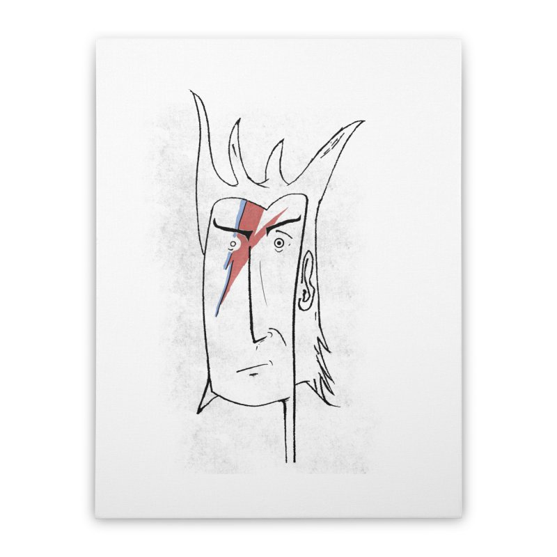 Ziggy Home Stretched Canvas by peregraphs's Artist Shop